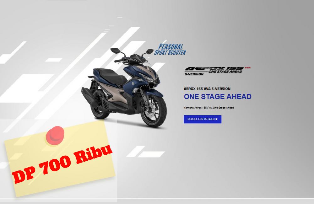 Yamaha Aerox 155 S DP 700 Ribu