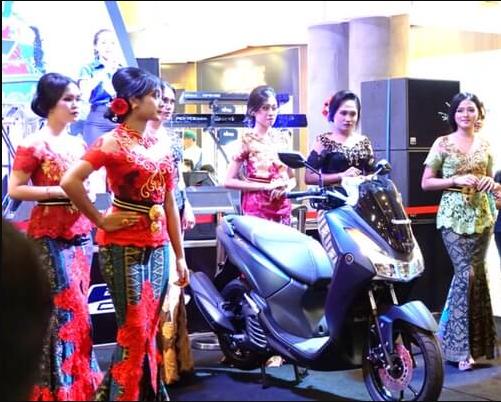 Yamaha Lexi Guncang Bali. Event eksebisi akbar