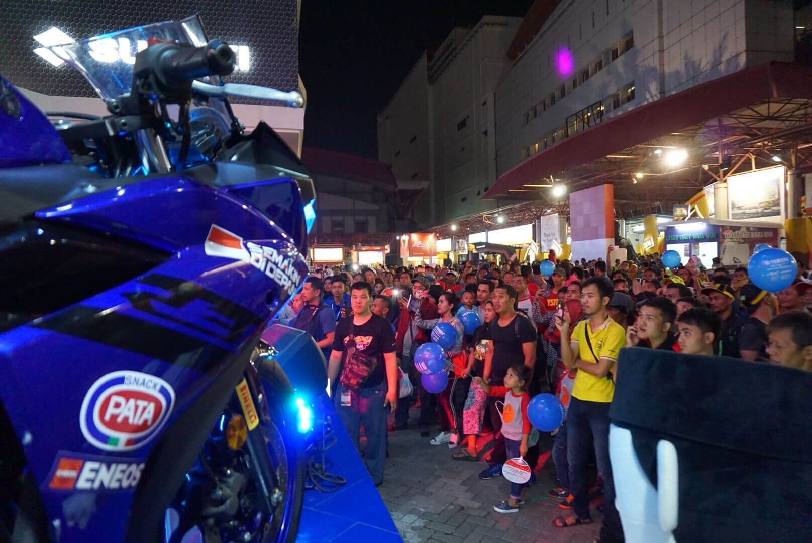 Dukung Aksi Pembalap Yamaha Indonesia Di Inggris