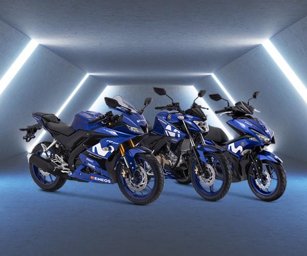 Desain Motor Movistar Yamaha Livery 2018