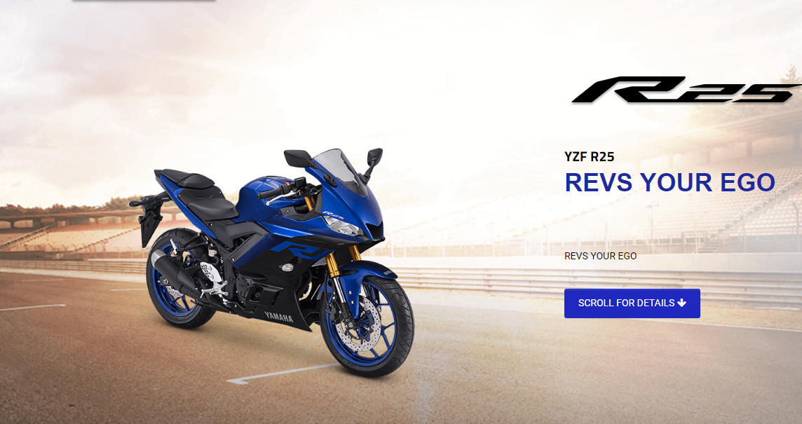 Banner Yamaha All New R25