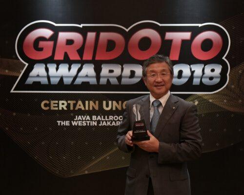 Media nasional Gridoto.com menggelar GridOto Award 2018