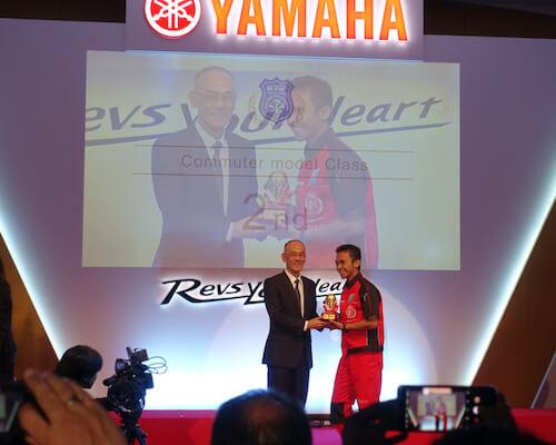 Raih Juara Ke2 Kompetisi Dunia Teknisi Yamaha Indonesia