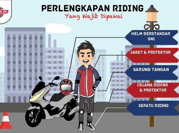 4 Tips Penyuka Touring Harus Safety Riding