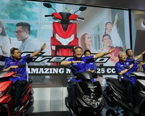 Motor Terbaru New Yamaha FreeGo The Amazing Matic