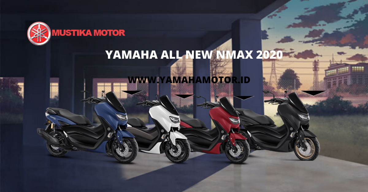 Kredit Motor Yamaha All New Nmax 2020