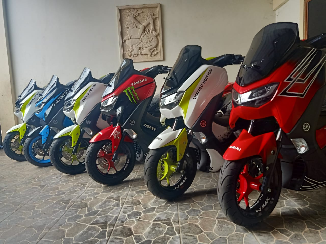 Kredit Motor Modifikasi AirBrush Yamaha New Nmax DP & Cicilan Ringan